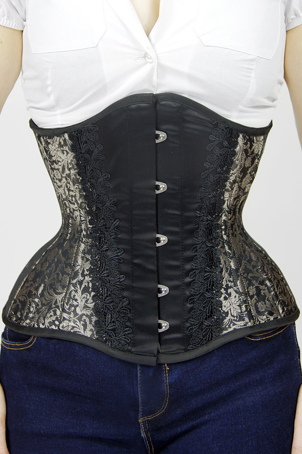 Gorset underbust Antique Gold