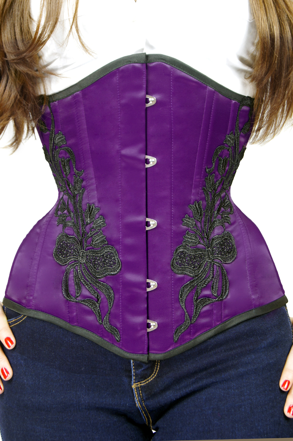 Gorset underbust Lily of the Valley